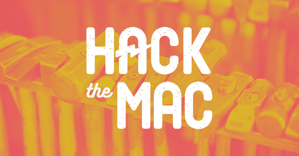 Hack the MAC logo image